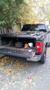 Leer truck cap 2007-2014 Silverado 6.5'