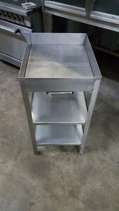 French Fry Dump Stainless Steel / Egoutoir a Frite Friteuse