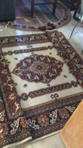 Wool area rug for sale 9x6 - $160