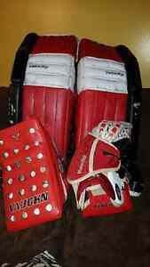 Goalis pads..tapper and blocker.