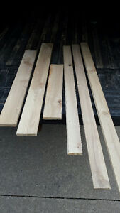 Hardwood Ash unfinished flooring (tongue and grooved)
