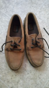 Leather shoes made by Wolverine - size 9