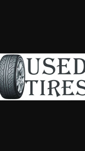 USED ALLSEASON TIRES SALE!!! FREE INSTALLATION AND BALANCE!!!