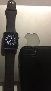 Apple watch gold 42mm series1 gen2 like new