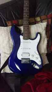 Stratocastor by Squier hss affinity