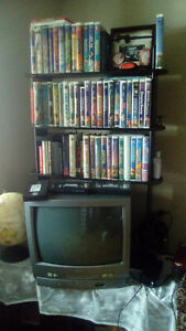Sanyo with built in VCR -