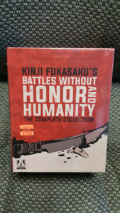 Battles Without Honor and Humanity: Complete Collection SEALED
