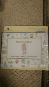 Brand New Baby Photo Greeting Cards