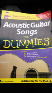 Acoustic Guitar Songs for Dummies, used