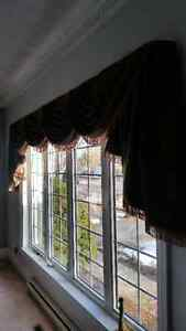 Top quality lined custom drapes - from 'Fabricville'