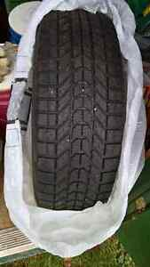 Winterforce Snow Tires and Steel Rims P225/70R16