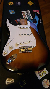 Fender Japan loaded '68 reissue strat body