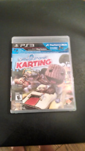 PS3 Little Big Planet Karting game