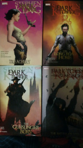 5 Stephen king THE DARK TOWER graphic novels MARVEL COMICS