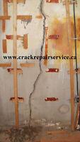 WET BASEMENT/ BASEMENT CRACK REPAIR / GUELPH, MILTON, GEORGETOWN