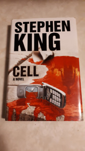 STEPHEN KING THE CELL AND DESPERATION- HARD COVER EXCELLENT