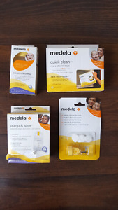 Medela breastfeeding pump supplies