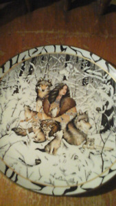 Native Numbered Collectible Plate