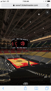 Must sell RAPTORS Lower Bowl at $210 each!  GM 5