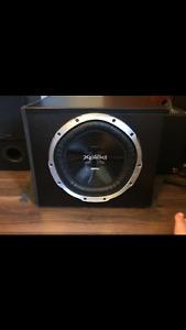 Sony 1300watt subwoofer