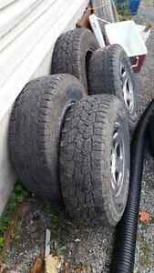 Winter tires on chevy 1500 rims