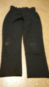Black Baseball Pants