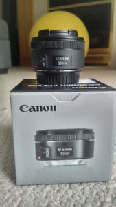 Canon 50 mm 1.8  LIKE NEW