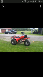85 big red 250 with ownership
