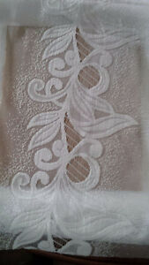 4 New White Curtains for Tayloring - for sale ! Kitchener / Waterloo Kitchener Area image 8