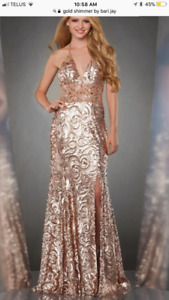 Brand new gown  never worn