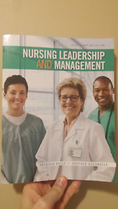 Nursing Leadership and Management 3rd Canadian Edition