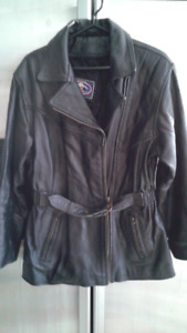 Genuine Hide/Leather Jacket Design, Thick and Beautiful Leather
