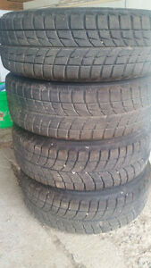 Used Winter Tires For Sale; With Rims