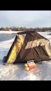 Frabill Recon Flip Up Ice Fishing Shelter