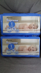 Diapers  (size 1)