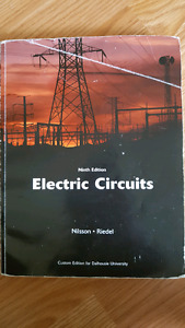 Electrical circuits, Nilsson and Riedel 9th edition