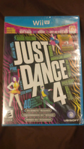 Wii U Nintendo game Just dance 4