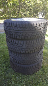 VW  Rims with new Winter tires