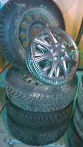 Winter tires, rims and hubcaps