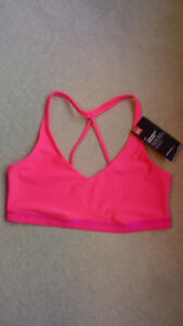 under armour sports bra and capris