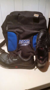 Bowling Shoes and bag