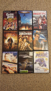 Dvds &  Playstation 2 games