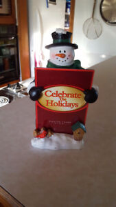 New Snowman Picture Frame