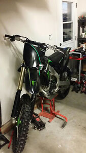 KX250F KXF250 Kawasaki Monster Edition