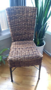 Dining Chairs wicker