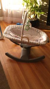Glider seat/rocker