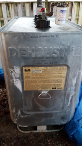 DeHoust Oil Tank and Brock Furnace