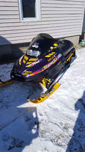 Very nice sled for 4x4 quad