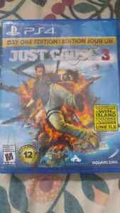 Just Cause 3 for PS4, Day One Edition, Playstation 4
