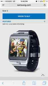 Samsung Gear 2 smart watch with camera